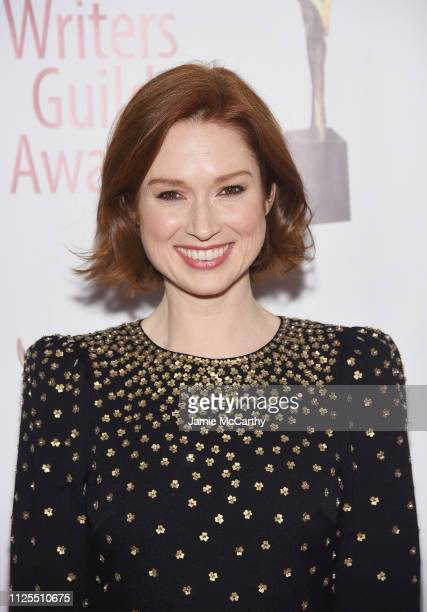 Ellie Kemper attends the 71st Annual Writers Guild Awards New York ceremony at Edison Ballroom on February 17, 2019 in New York City.