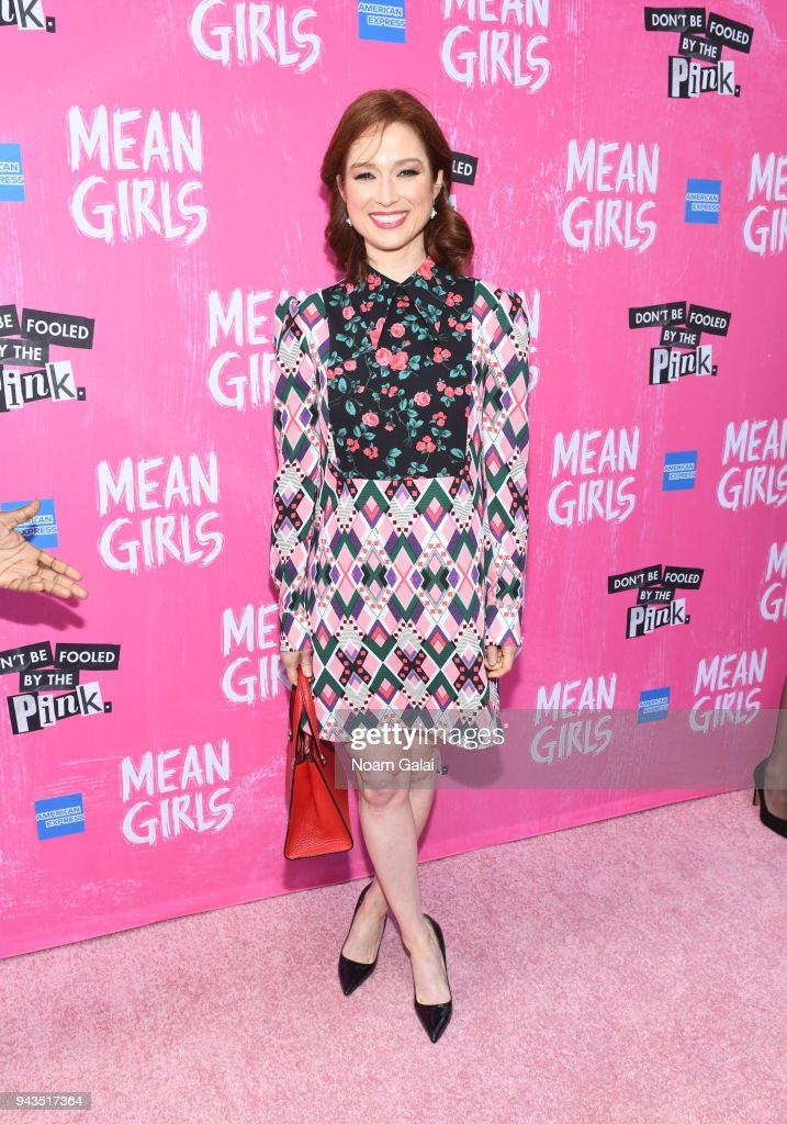 Ellie Kemper attends the opening night of 'Mean Girls' on Broadway at August Wilson Theatre on April 8, 2018 in New York City.