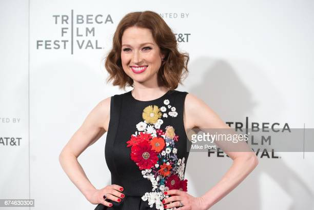 """Ellie Kemper attends the """"Unbreakable Kimmy Schmidt"""" screening during 2017 Tribeca Film Festival at BMCC Tribeca PAC on April 28, 2017 in New York..."""
