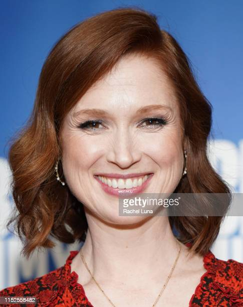 "Ellie Kemper attends Universal Television's FYC ""Unbreakable Kimmy Schmidt"" panel at UCB Sunset Theater on May 29, 2019 in Los Angeles, California."