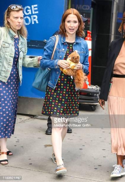 Ellie Kemper is seen on July 03, 2019 in New York City.
