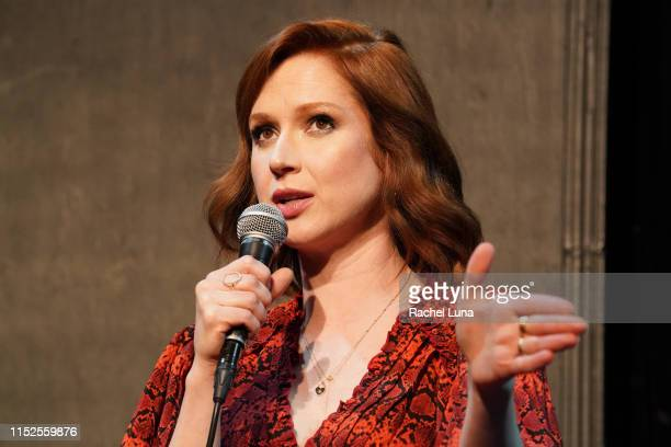 """Ellie Kemper participates in Universal Television's FYC """"Unbreakable Kimmy Schmidt"""" panel at UCB Sunset Theater on May 29, 2019 in Los Angeles,..."""