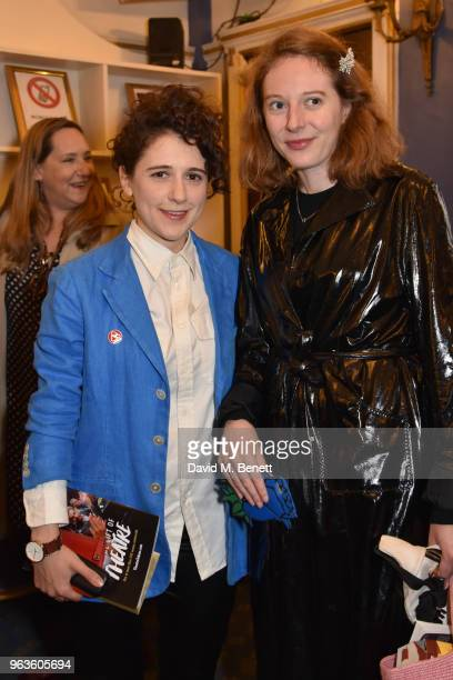Ellie Kendrick and guest arrive at the press night performance of 'Consent' at the Harold Pinter Theatre on May 29 2018 in London England