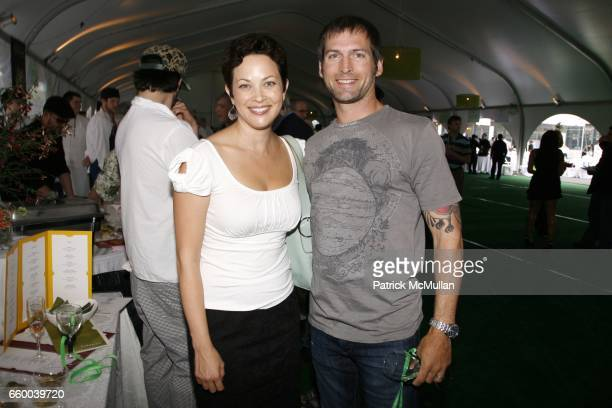 Ellie Krieger and Thom Schuchaskie attend Second Annual NEW TASTE of the UPPER WEST SIDE Fundraising Gala at Columbus Avenue Tent on May 30 2009 in...