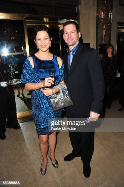 Ellie Krieger and Tom Schuchasie attend VOLUNTEERS OF AMERICA 14th Annual Gala a New York Winter's Eve at The Plaza on December 8 2009 in New York