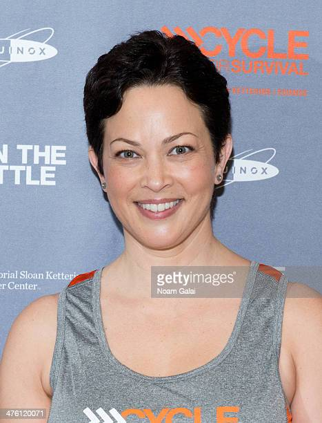 Ellie Krieger attends 2014 Cycle For Survival Benefit Ride at Equinox Rock Center on March 2 2014 in New York City