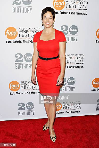 Ellie Krieger attends Food Networks 20th birthday celebration at Pier 92 on October 17 2013 in New York City