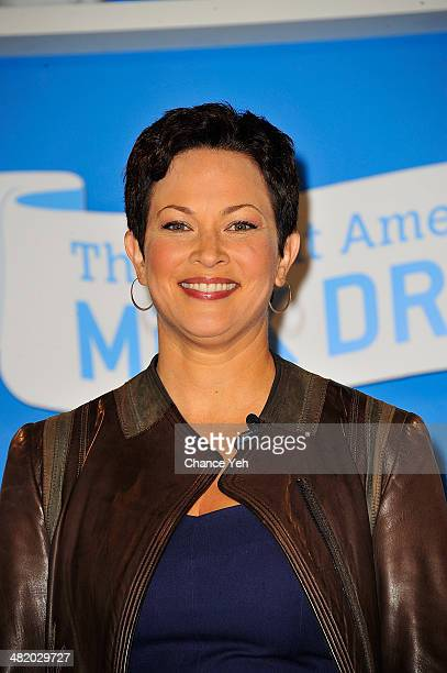 Ellie Krieger attends the Great American Milk Drive at City Harvest Food Rescue Facility on April 2 2014 in New York City