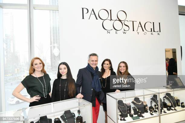 Ellie Price, Tamara Chichian, Paolo Costagli, Erica Watkins and Kelly Thomas attend The Museum of Arts and Design Presents LOOT: MAD About Jewelry on...