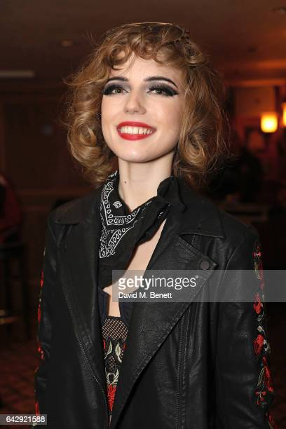 Ellie Rae Winstone attends the Pam Hogg aftershow party during the London Fashion Week February 2017 collections at Bunga Bunga on February 19 2017...