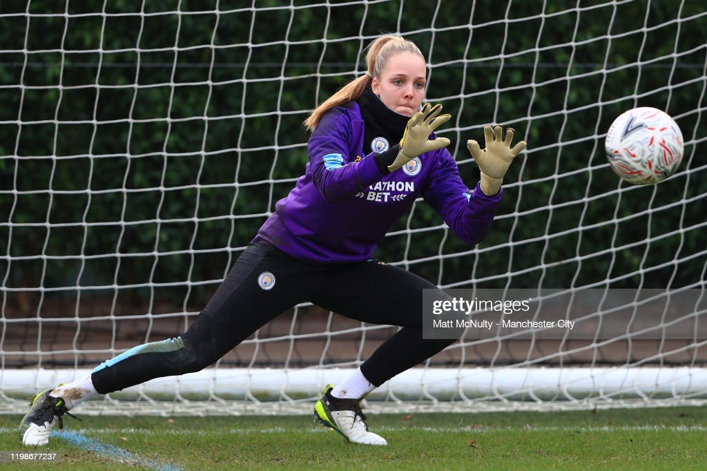 Manchester City Women Training Session : News Photo