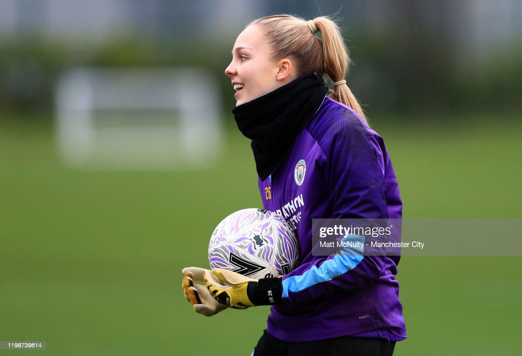 Manchester City Women Training Session : Photo d'actualité
