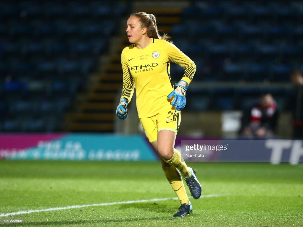 Arsenal Women v Manchester City Ladies: WSL Continental Cup Final : News Photo