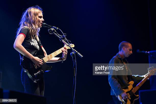 Ellie Rowsell of Wolf Alice performs at Electric Picnic at Stradbally Hall Estate on September 4 2016 in Dublin Ireland