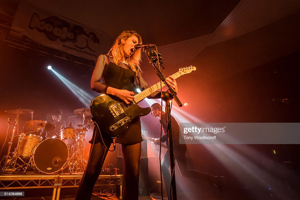 Wolf Alice Performs At Keele University