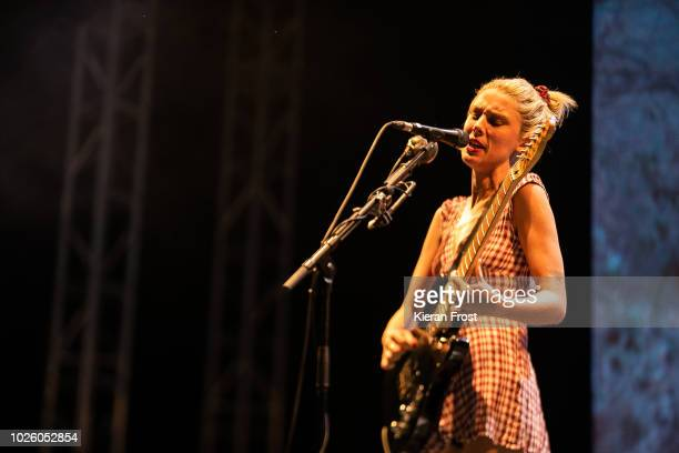 Ellie Rowsell of Wolf Alice performs during Electric Picnic 2018 at Stradbally Hall Estate on September 1 2018 in Dublin Ireland