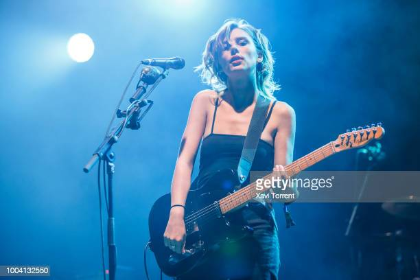 Ellie Rowsell of Wolf Alice performs in concert during day 4 of Festival Internacional de Benicassim on July 22, 2018 in Benicassim, Spain.