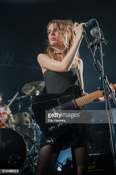 Ellie Rowsell of Wolf Alice performs live on stage at O2 Academy Oxford on March 13 2016 in Oxford England