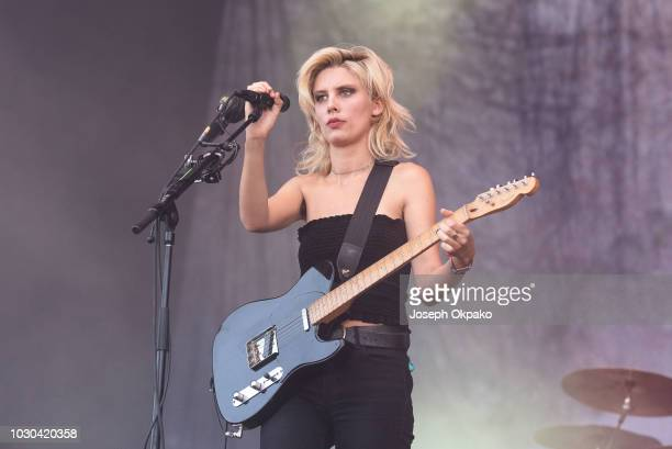 Ellie Rowsell of Wolf Alice performs on stage on Day 2 at the fourth edition of Lollapalooza Berlin at Olympiastadion on September 9, 2018 in Berlin,...
