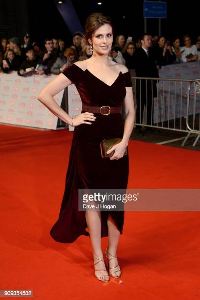 Ellie Taylor attends the National Television Awards 2018 at The O2 Arena on January 23 2018 in London England