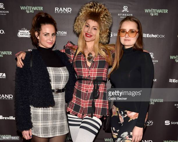 Ellie Taylor Eleonora Walczak Joni Leetun attend the Whitewater Films Reception At The RAND Luxury Escape 2018 Park City at The St Regis Deer Valley...