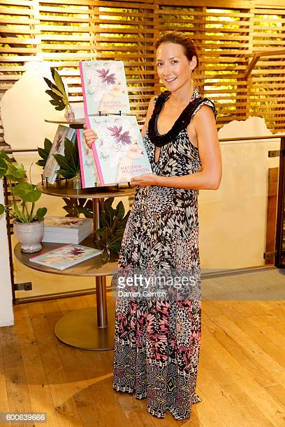 Ellie Vandoorne attends the book launch of Matthew Williamson Fashion Print Colouring by Laurence King Publishing at Anthropologie on September 8...