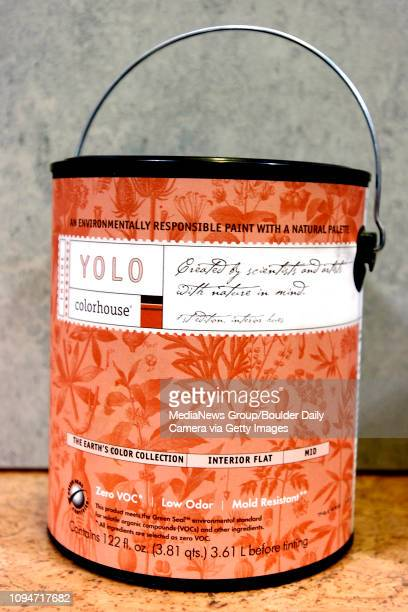 Ellie's Eco Home Store with low- and no-VOC house paints including YOLO Colorhouse.