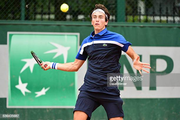 Elliot Benchetrit during day eleven of the French Open 2016 at Roland Garros on June 1 2016 in Paris France