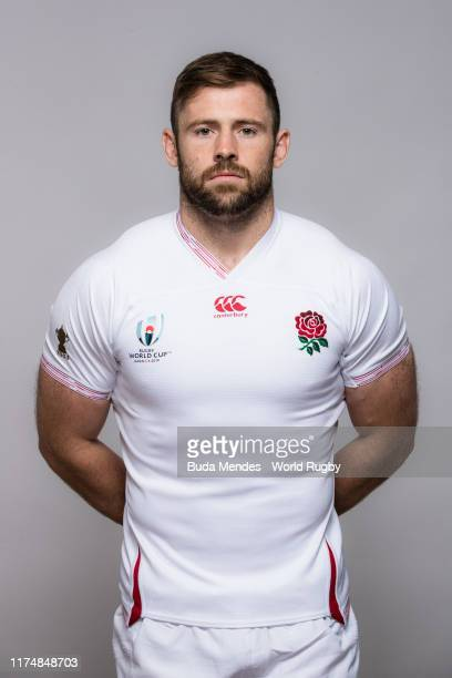 Elliot Daly of England poses for a portrait during the England Rugby World Cup 2019 squad photo call on September 15 2019 in Miyazaki Japan