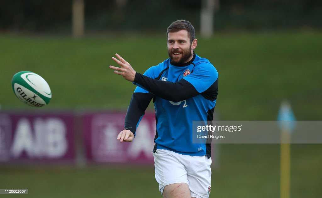 England Captains Run : News Photo