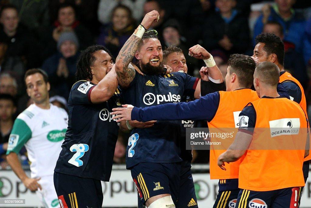 Super Rugby Rd 5 - Highlanders v Crusaders : News Photo