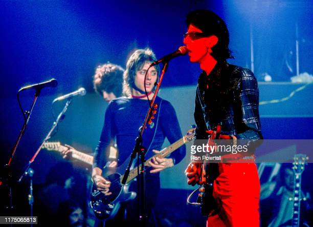 Elliot Easton Benjamin Orr and Rick Ocasek performing at The Paradise Theater June 29 1978 in Boston MA