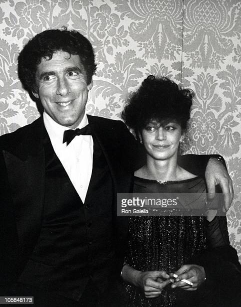 Elliot Gould and Jennifer Bogart during 39th Annual Golden Globe Awards at Beverly Hilton Hotel in Beverly Hills California United States