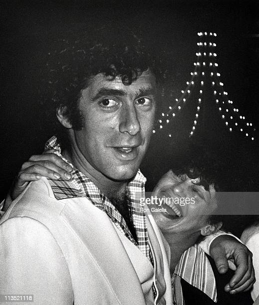 Elliot Gould and Jennifer Bogart during The Greatest Los Angeles Premiere at Century Plaza in Los Angeles California United States