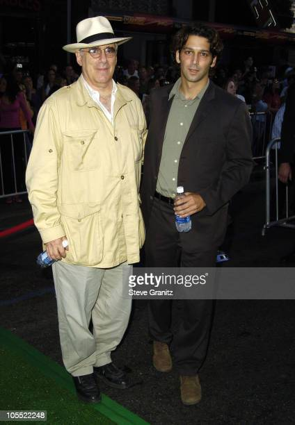 Elliot Gould and son Sam Gould during Mr 3000 Premiere Los Angeles at El Capitan in Hollywood California United States