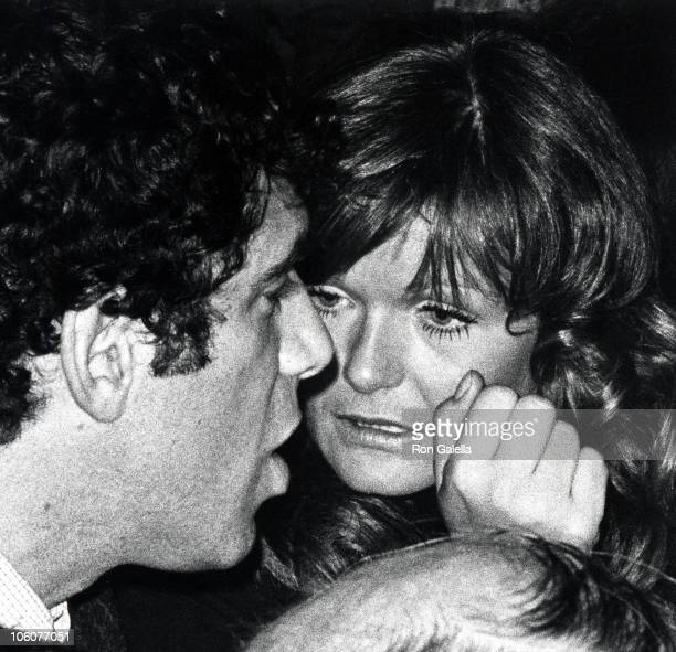 Elliot Gould and Valerie Perrine during Film Critics Society Awards at Sardi's Restaurant in New York City New York United States