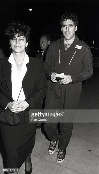 Elliot Gould and wife Jennifer Bogart during Time Covers Hollywood 19231985 February 14 1985 at Samuel Goldwyn Theater in Beverly Hills California...