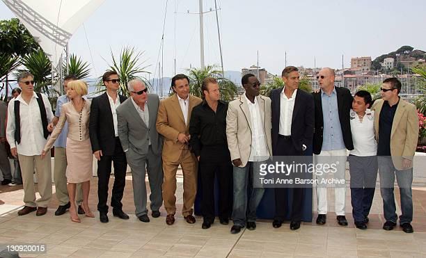 Elliot Gould Matt Damon Ellen Barkin Brad Pitt Jerry Weintraub Andy Garcia Scott Caan Don Cheadle George Clooney Steven Soderberg Shaobo Qin and guest