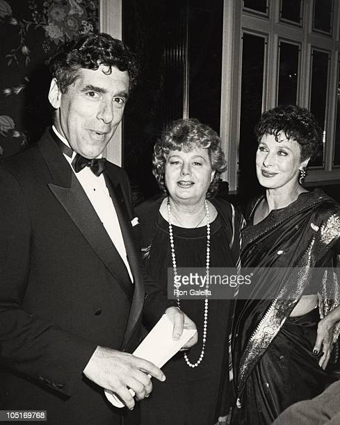 Elliot Gould Shelley Winters Rita Gam during Opening Celebration of the 3rd Annual Israeli Film Festival at Waldorf Astoria Hotel in New York NY...