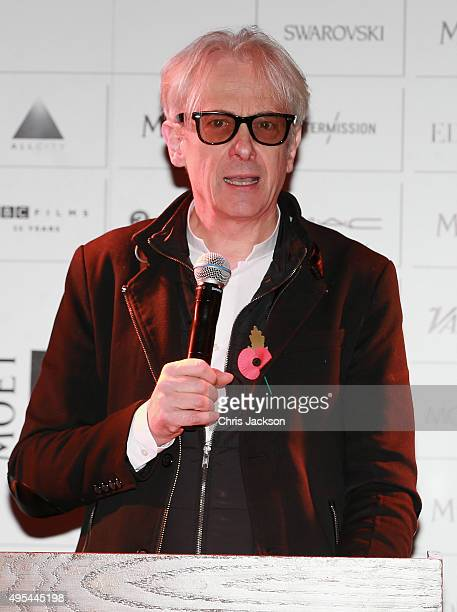Elliot Grove announces the The Moet British Independent Film Awards at The London Edition Hotel on on November 3 2015 in London England