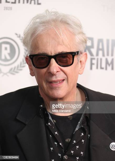 """Elliot Grove attends the """"Stardust"""" Opening Film & UK Premiere during the 28th Raindance Film Festival at The May Fair Hotel on October 28, 2020 in..."""