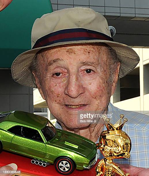 Elliot Handler, co-founder of Mattel and known as the 'Father of Hot Wheels' during kick off celebration, August 19, 2008 in El Segundo, California