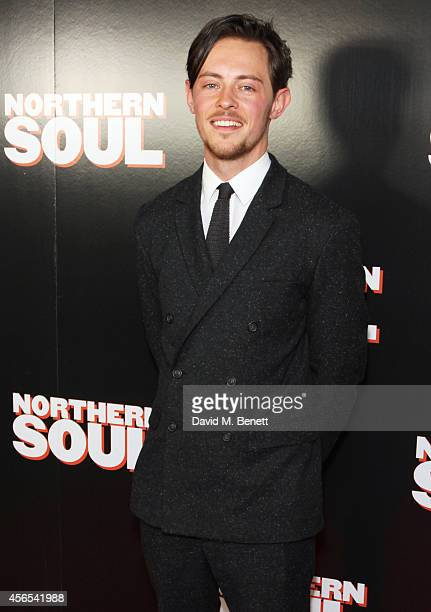 Elliot James Langridge attends a Gala Screening of 'Northern Soul' at the Curzon Soho on October 2 2014 in London England