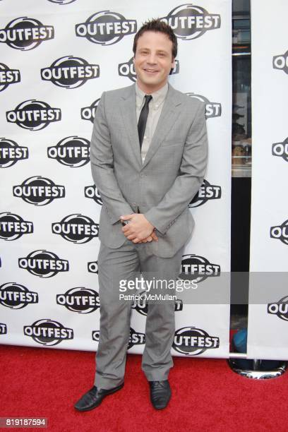Elliot London attends Outfest's Opening Night Gala of HOWL at Orpheum Theater on July 8 2010 in Los Angeles CA