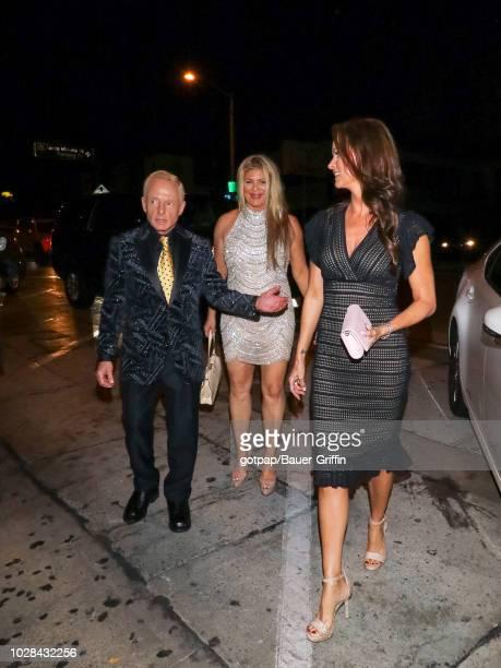 Elliot Mintz, Peggy McIntaggart, and Karen McDougal are seen on September 06, 2018 in Los Angeles, California.