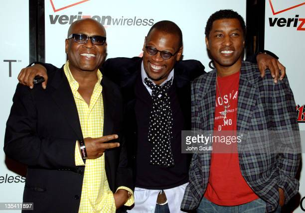 Elliot Reed Andre Harrell and Kenny 'Babyface' Edmonds