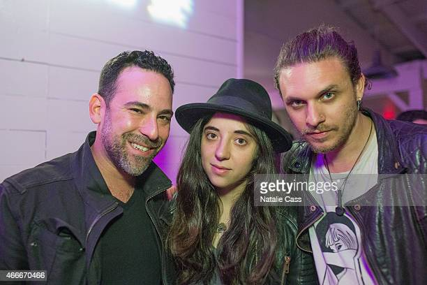 Elliot Reznik Chloe Caillet and Jesse Kotansky attend the NYLON Presents SXStyle Official Closing Party With Original Penguin during the 2015 SXSW...