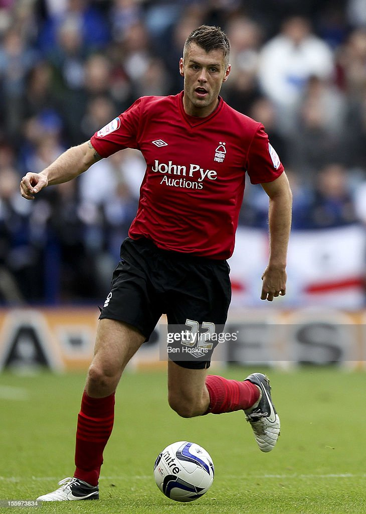 Elliot Ward of Nottingham in action during the npower Championship match between Leicester City and Nottingham Forest at the King Power Stadium on November 10, 2012 in Leicester, England.