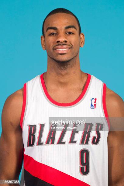 Elliot Williams of the Portland Trail Blazers poses for a portrait during Media Day on December 16 2011 at the Rose Garden Arena in Portland Oregon...