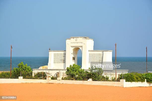 elliot's beach chennai city - chennai stock pictures, royalty-free photos & images